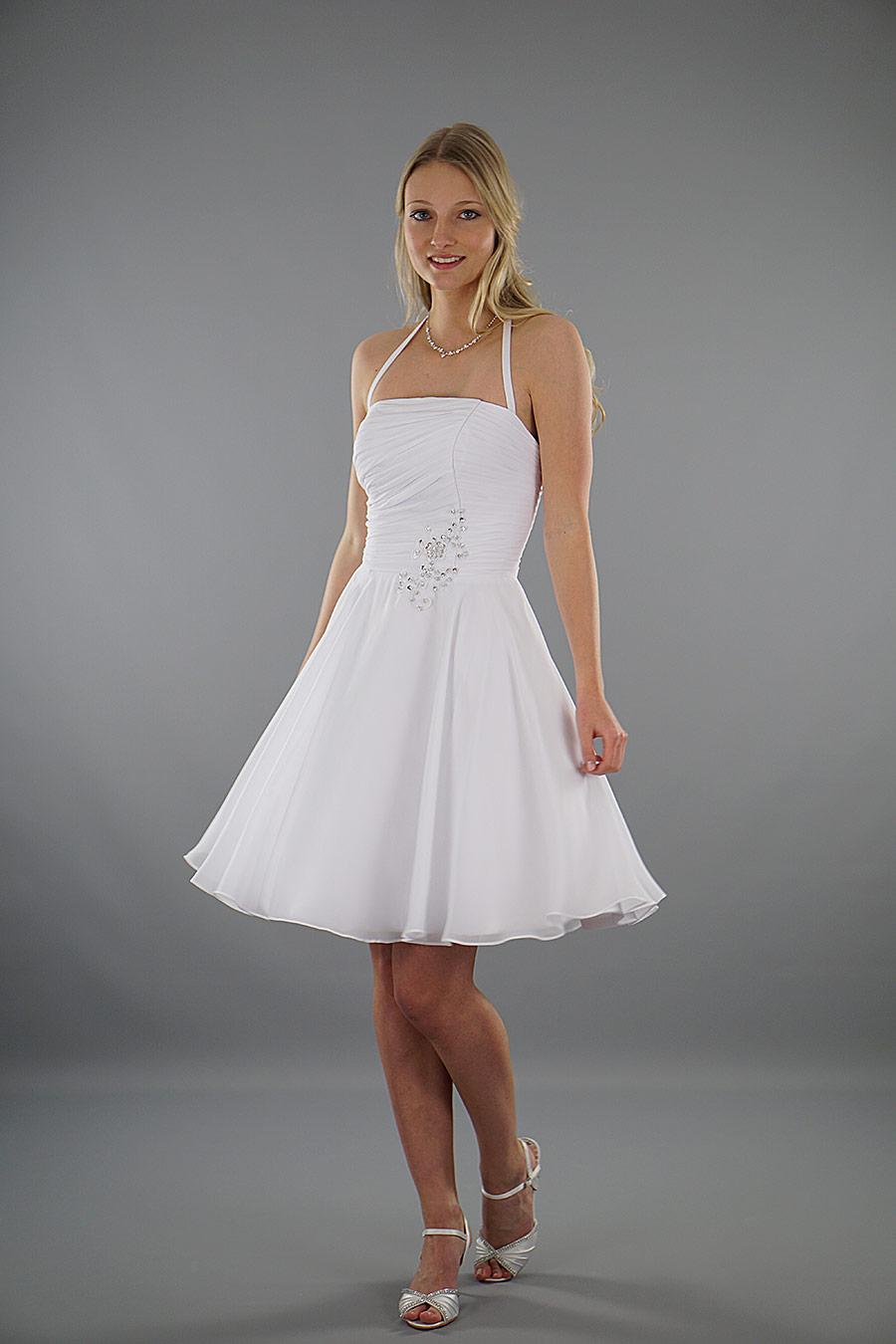 Brautkleid Luna - kurzes Hochzeitskleid | Schmetterling ...